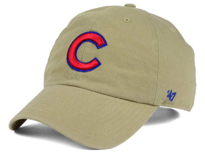 Chicago Cubs '47 MLB Khaki '47 CLEAN UP Cap