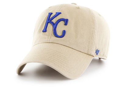 Kansas City Royals '47 MLB Khaki '47 CLEAN UP Cap
