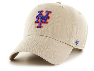 New York Mets '47 MLB Khaki '47 CLEAN UP Cap
