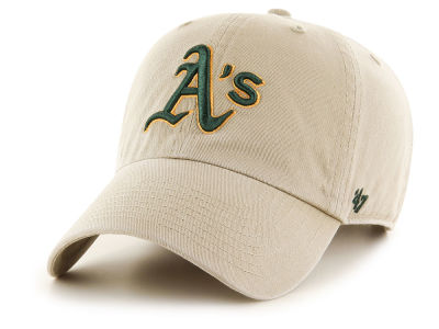 Oakland Athletics '47 MLB Khaki '47 CLEAN UP Cap