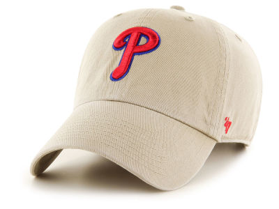 Philadelphia Phillies '47 MLB Khaki '47 CLEAN UP Cap
