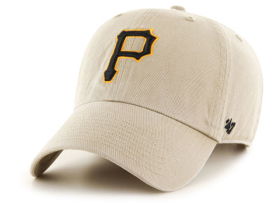 Pittsburgh Pirates '47 MLB Khaki '47 CLEAN UP Cap