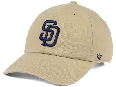 San Diego Padres '47 MLB Khaki '47 CLEAN UP Cap