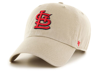 St. Louis Cardinals '47 MLB Khaki '47 CLEAN UP Cap