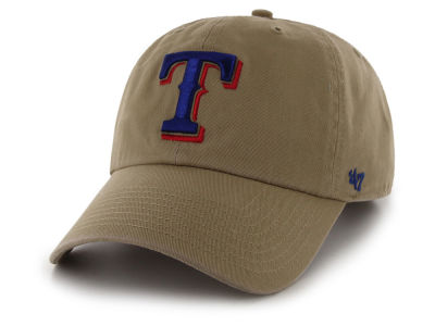 Texas Rangers '47 MLB Khaki '47 CLEAN UP Cap
