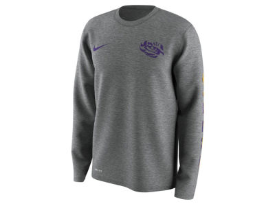 LSU Tigers Nike NCAA Men's 2.0 Hook Legend Long Sleeve T-Shirt