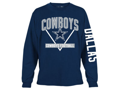 Dallas Cowboys NFL Men's Nickel Formation Long Sleeve T-Shirt