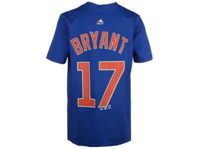 Chicago Cubs Kris Bryant MLB Youth Poly Player T-Shirt