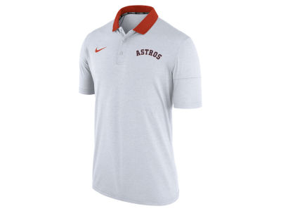 Houston Astros Nike MLB Men's Dri-Fit Touch Polo