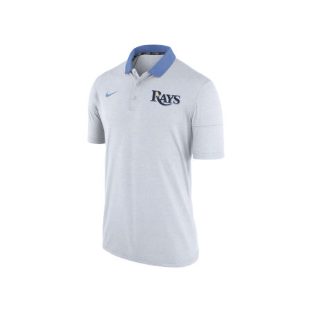 Tampa Bay Rays Nike MLB Men's Dri-Fit Touch Polo