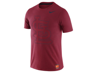 St. Louis Cardinals Nike MLB Men's Coop Premium Text T-Shirt