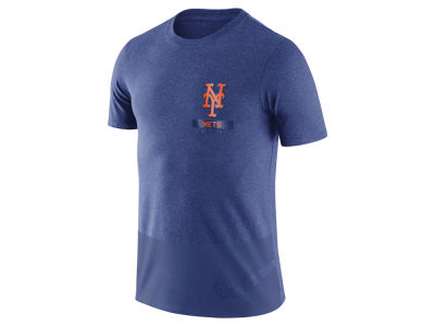 New York Mets Nike MLB Men's Dri-Blend Drop Tail T-Shirt