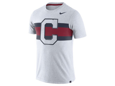 Cleveland Indians Nike MLB Men's Dri-Blend Stripes 1.7 T-Shirt