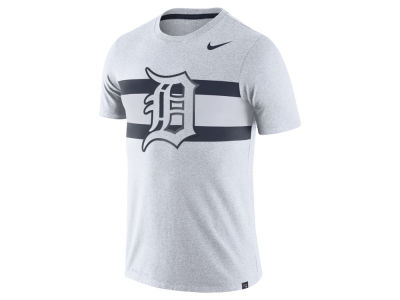 Detroit Tigers Nike MLB Men's Dri-Blend Stripes 1.7 T-Shirt