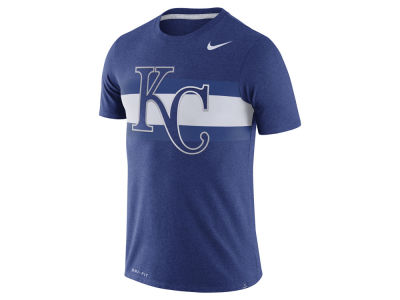 Kansas City Royals Nike MLB Men's Dri-Blend Stripes 1.7 T-Shirt