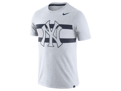 New York Yankees Nike MLB Men's Dri-Blend Stripes 1.7 T-Shirt