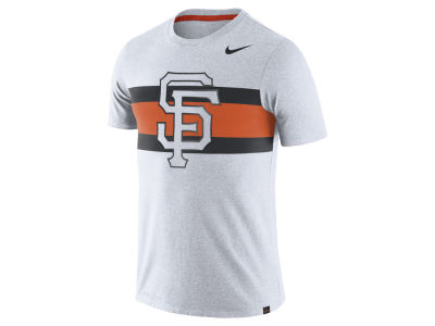San Francisco Giants Nike MLB Men's Dri-Blend Stripes 1.7 T-Shirt
