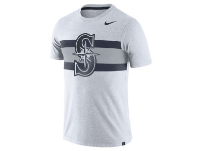 Seattle Mariners Nike MLB Men's Dri-Blend Stripes 1.7 T-Shirt