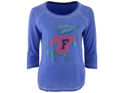 Florida Gators MYU NCAA Women's Nail Quarter Sleeve T-Shirt