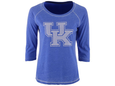 Kentucky Wildcats MYU NCAA Women's Nail Quarter Sleeve T-Shirt
