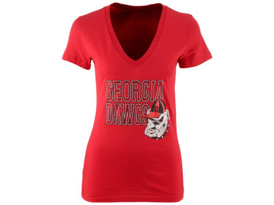 Georgia Bulldogs MYU NCAA Women's Fan Zone T-Shirt