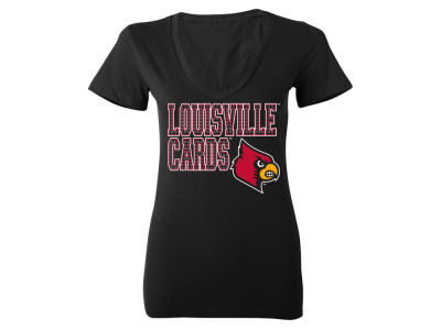 Louisville Cardinals MYU NCAA Women's Fan Zone T-Shirt