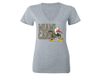 Miami Hurricanes MYU NCAA Women's Fan Zone T-Shirt