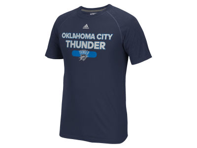 Oklahoma City Thunder adidas NBA Men's Reflective Authentic Climalite T-Shirt