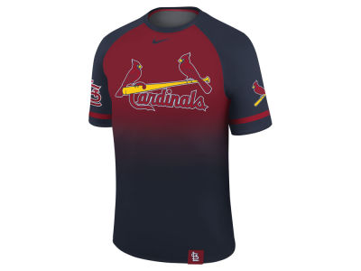 St. Louis Cardinals Nike MLB Men's Dri-Fit Sublimated Raglan T-shirt