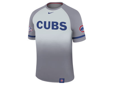Chicago Cubs Nike MLB Men's Dri-Fit Sublimated Raglan T-shirt