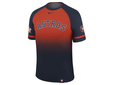 Houston Astros Nike MLB Men's Dri-Fit Sublimated Raglan T-shirt