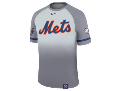 New York Mets Nike MLB Men's Dri-Fit Sublimated Raglan T-shirt