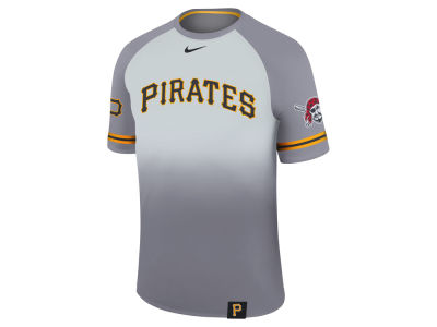 Pittsburgh Pirates Nike MLB Men's Dri-Fit Sublimated Raglan T-shirt