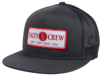 Salty Crew Rudder Trucker Hat