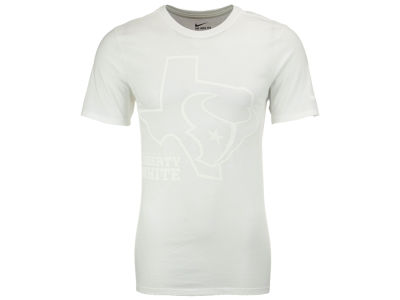Houston Texans Nike NFL Men's Liberty White T-Shirt