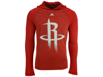 Houston Rockets adidas NBA Men's Full Primary Logo Climalite Hoodie