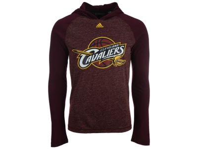 Cleveland Cavaliers adidas NBA Men's Full Primary Logo Climalite Hoodie
