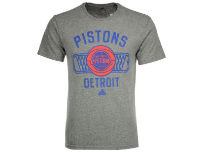Detroit Pistons adidas NBA Men's Athletic Department Triblend T-Shirt