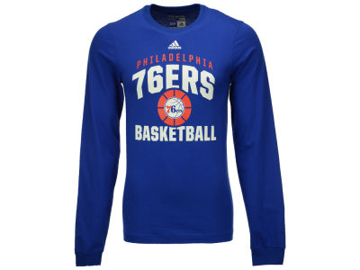 Philadelphia 76ers adidas NBA Men's Rep Big Long Sleeve T-Shirt