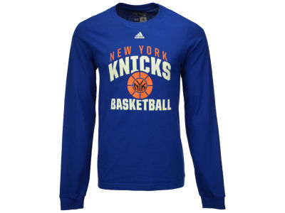New York Knicks adidas NBA Men's Rep Big Long Sleeve T-Shirt