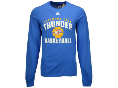 Oklahoma City Thunder adidas NBA Men's Rep Big Long Sleeve T-Shirt