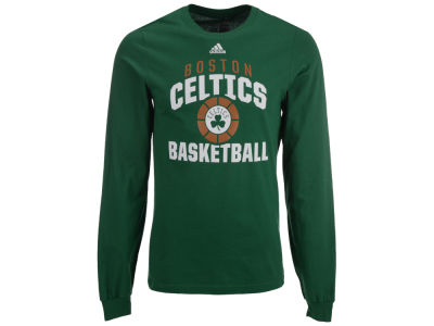 Boston Celtics adidas NBA Men's Rep Big Long Sleeve T-Shirt