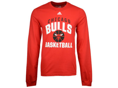 Chicago Bulls adidas NBA Men's Rep Big Long Sleeve T-Shirt
