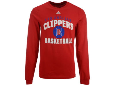 Los Angeles Clippers adidas NBA Men's Rep Big Long Sleeve T-Shirt