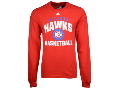 Atlanta Hawks adidas NBA Men's Rep Big Long Sleeve T-Shirt
