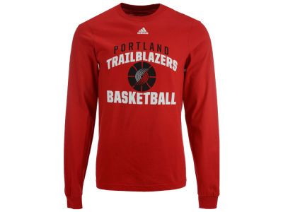 Portland Trail Blazers adidas NBA Men's Rep Big Long Sleeve T-Shirt