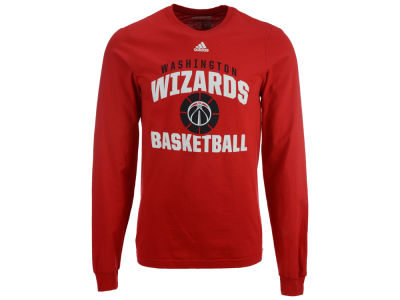 Washington Wizards adidas NBA Men's Rep Big Long Sleeve T-Shirt