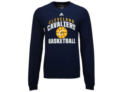 Cleveland Cavaliers adidas NBA Men's Rep Big Long Sleeve T-Shirt