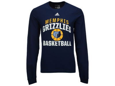 Memphis Grizzlies adidas NBA Men's Rep Big Long Sleeve T-Shirt