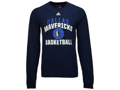 Dallas Mavericks adidas NBA Men's Rep Big Long Sleeve T-Shirt